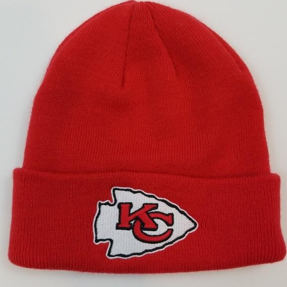 54baad154f899 KC Chiefs OSFA NFL winter stocking hat Kansas City.  M 5be7216a9539f751dc597cad